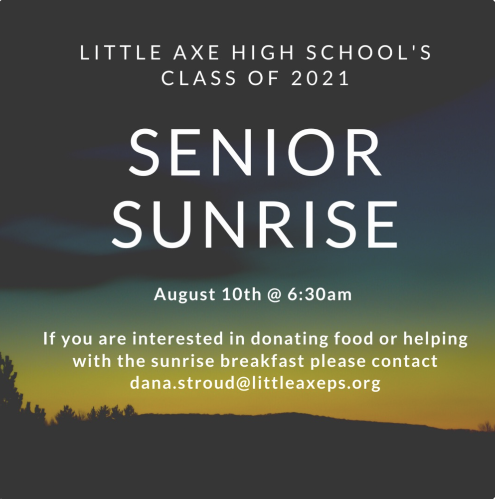 Class of 2021 Senior sunrise